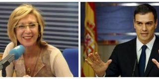 """Soberbia tribuna de Rosa Díez en la que deja a Sánchez para el arrastre: """"¡Mentiroso, cínico, filibustero...!"""""""