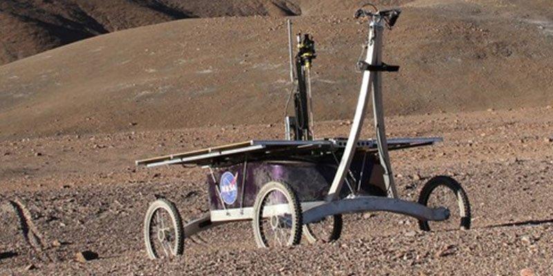 Este 'rover' capaz de detectar vida halla bacterias antes desconocidas en el desierto de Atacama