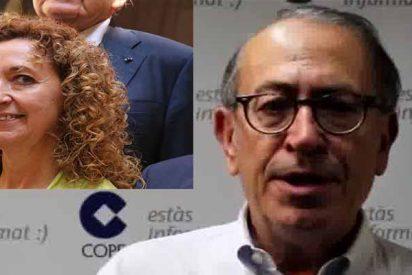 Nicolás Redondo se 'come viva' a Ester Capella, la pesada consejera de Justicia catalana
