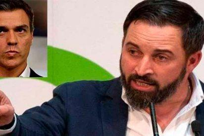 """Santi Abascal responde a Pedro Sánchez: """"Tú te encamas con comunistas, separatistas y filoetarras"""""""