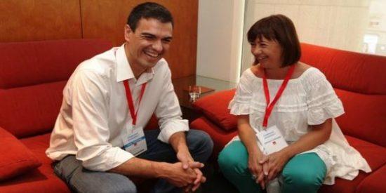 El nuevo himno de la socialista Armengol para que Mallorca se olvide del castellano por 'collons'