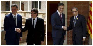 España es rehén de los descerebrados golpistas y del felón Pedro Sánchez por negociar sin condiciones con ellos