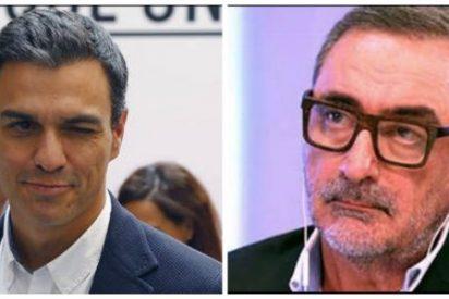 Carlos Herrera 'calienta' la manifestación de Colón y le lanza una severa advertencia a Pedro Sánchez