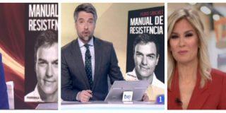 TVE, una sucursal de Atresmedia: tras lo de Évole, ahora bombo y platillo a Planeta con el libro de Sánchez