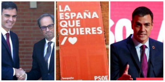 La patochada del 'Doctor Viscolástico Sánchez': roto el colchón del separatismo ahora busca refugio en el de España