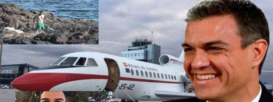 Pedro Sánchez y señora se van 21 días de vacaciones con España sin Gobierno