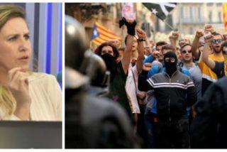 """El acoso que sufrió Cristina López Schlichting en Cataluña y que no ven los abogados golpistas: """"¡Habría que fusilarte!"""""""