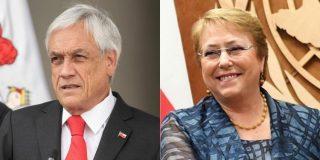 """Contundente mensaje de Piñera a Bachelet: """"Se acabó el tiempo de las reflexiones y llegó el de la acción en Venezuela"""""""