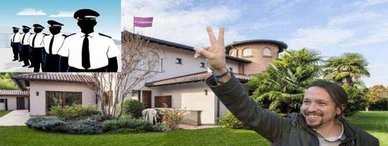 La Guardia Civil que pagamos todos vigila el chalé de Iglesias pese a que Podemos recibió 278.216 € para seguridad privada