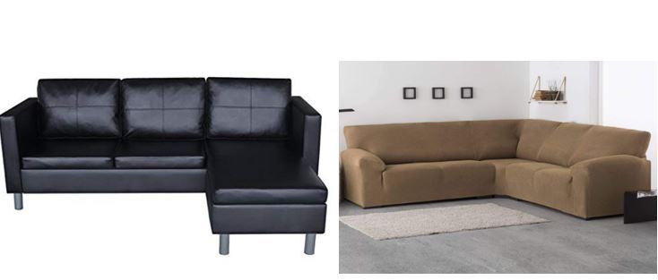 sofas chaise longue o rinconeras