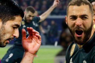 Los números no engañan: La cruda realidad para Suárez ante Benzema en la Champions