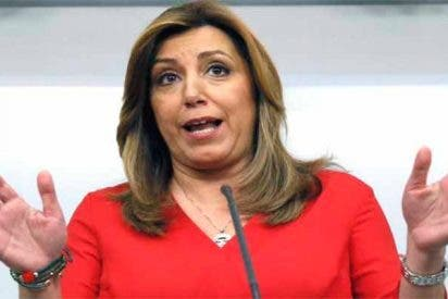 La asquerosa trampa de Susana Díaz para engañar a Hacienda con sus chiringuitos millonarios