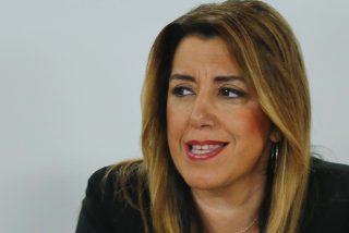 """Susana Díaz alerta de que """"Andalucía está peor que hace un año"""" con Moreno Bonilla"""
