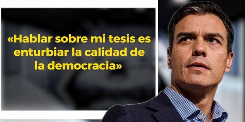 El 'okupa' Pedro Sánchez también plagió en 'su' tesis un informe de la Oficina Económica de Zapatero de 2010
