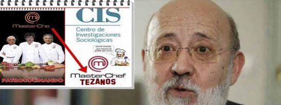 'Masterchef' Tezanos ficha a 27 colegas para aliñar la 'cocina' del CIS antes de las elecciones