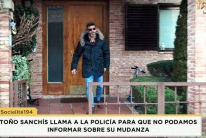 Toño Sanchis llama a la policia ante el 'acoso' de las cámaras de Vasile