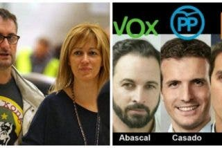 El marido separatista de Susanna Griso vuelve a montarla acusando de genocidas a Casado, Rivera y Abascal