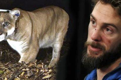 Travis Kauffman : El corredor que estranguló con sus propias manos a un puma relata cómo fue la terrible experiencia