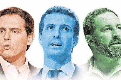 PP, Cs y VOX convocan a los españoles a la Plaza de Colón este domingo 'para echar al traidor Sánchez'