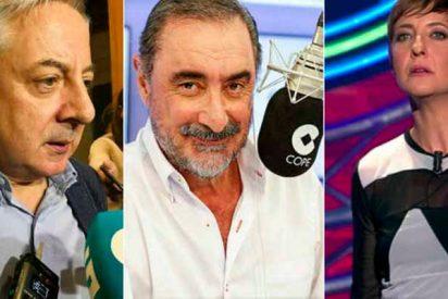Carlos Herrera sacude un buen zasca a Pepe Blanco y Eva Hache por insultar a los manifestantes de Colón