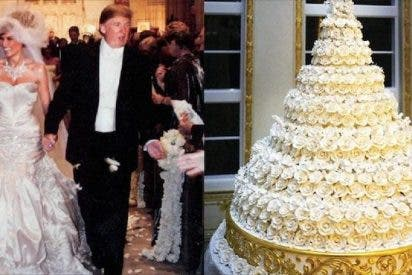 """Artista latinoamericano compra el """"pastel de bodas"""" de Trump y Melania"""