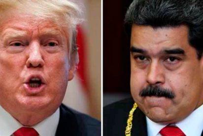 Donald Trump deja claro que tiene sobre la mesa la 'opción militar' y que rechaza un pedido de reunión de Maduro