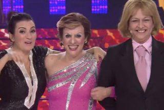 Anabel Alonso, Yolanda Ramos y Silvia Abril juntos en la final de Tu Cara Me Suena