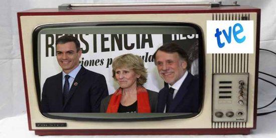¡Escándalo!: La TVE de Pedro y Pablo al servicio del libro pufo de Sanchez