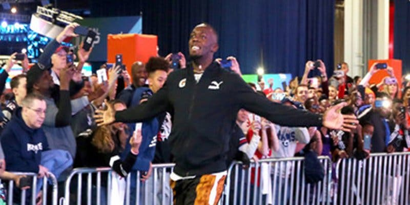 Usain Bolt logra un nuevo récord histórico en un evento de la Super Bowl