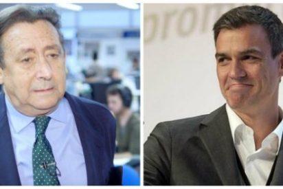 """Alfonso Ussía sale con toda la artillería contra el """"indigno traidor"""" de Pedro Sánchez y le vaticina un negro futuro judicial"""