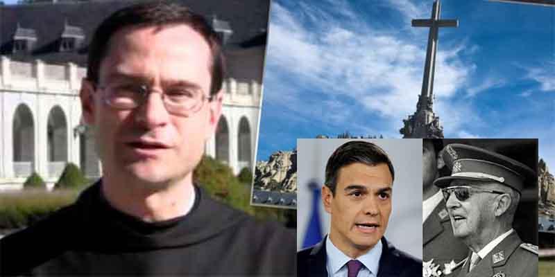 """Santiago Cantera: """"Sánchez ha fracasado y no se llevará el cadáver de Franco porque el templo es inviolable"""""""