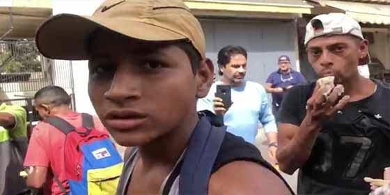 El vídeo de jóvenes comiendo de la basura con el que Jorge Ramos hizo estallar de ira a Nicolás Maduro