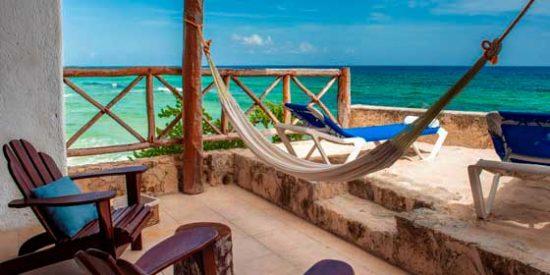 Hoteles eco-friendly en Cozumel: Ventanas al Mar