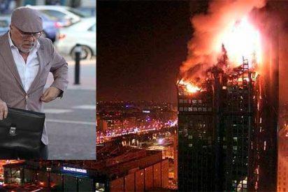 """El comisario Villarejo niega haber incendiado el Windsor y afirma que su nota """"es una falsificación"""""""