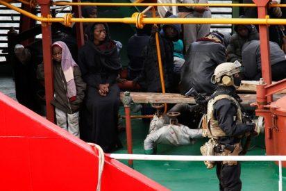 El ejército de Malta toma por la fuerza el control de un buque petrolero secuestrado por migrantes