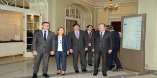 Herrera pide apoyo a la sociedad de Castilla y León para el Corredor del Atlántico