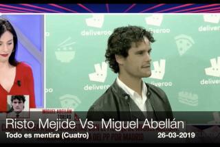 El Risto más impertinente busca ridiculizar a Miguel Abellán y se lleva un toreo de dos orejas