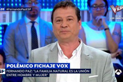El candidato de VOX Fernando Paz manda a tomar por saco la política harto de que le den por todos lados