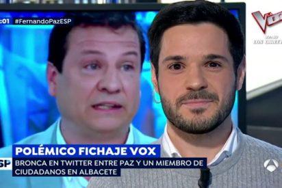 """La pelea con uñas y dientes entre un militante de C's y el fichaje de VOX: """"No tengo miedo a los homosexuales"""""""