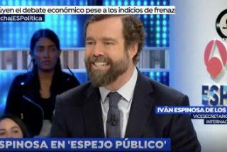 """Formidable palo de vuelta de Espinosa (Vox) a Errejón: """"Aunque ya no pinte nada, es de los más peligrosos"""""""