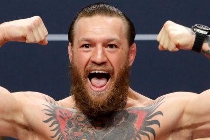 El luchador Conor McGregor vende su marca de whisky y se hace mucho más rico de lo que era