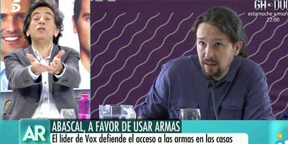 """Arcadi Espada humilla a Pablo Iglesias con severidad: """"Es un indigente intelectual y un pobre hombre"""""""