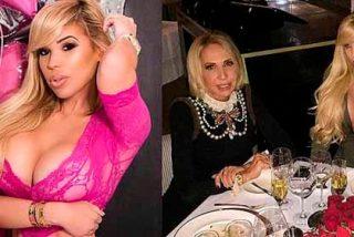 Alejandra de la Fuente, la hija pechugona de Laura Bozzo, en ropa interior de encaje