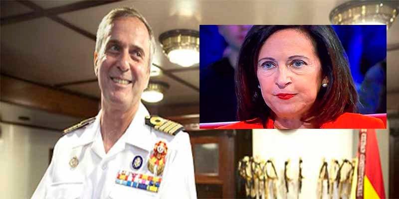 El Tribunal Supremo obliga a Defensa a readmitir al vicealmirante que fulminó la ministra Robles