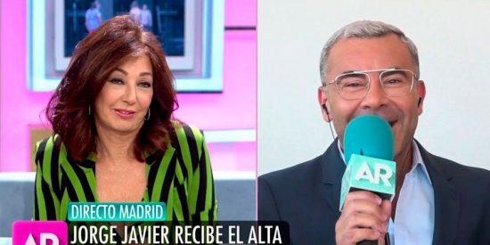 El consejo con doble intención de Ana Rosa a Jorge Javier tras su alta hospitalaria