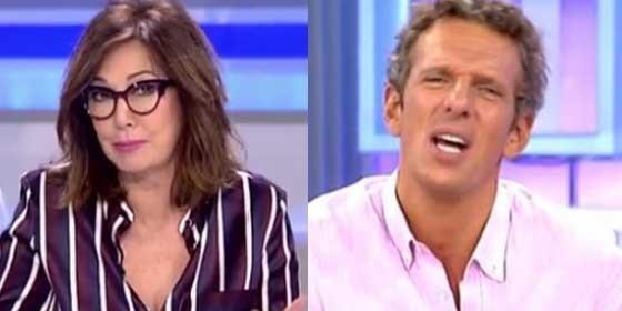 """Momento incómodo y bestial entre Ana Rosa Quintana y Joaquín Prat al hablar de 'GH VIP 7': """"¡Qué mala leche!"""""""