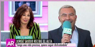 Jorge Javier Vázquez sale del hospital: Charla surrealista con Ana Rosa y 'dardos' a VOX