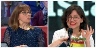 """Una bloguera se harta del tutelaje feminista de Angélica Rubio: """"Desde Franco no recibíamos tantas órdenes, eres una dictadora"""""""