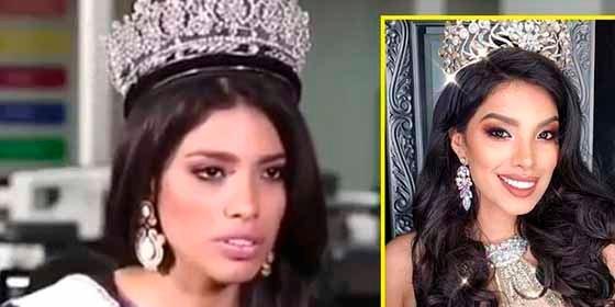 Borracha y nadando en vómito: el vídeo filtrado de la Miss Perú 2019 muy embriagada