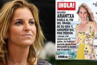 Los 'chacales' de Hacienda muerden a Arantxa Sánchez Vicario: embargan el dinero de su exclusiva con 'Hola'